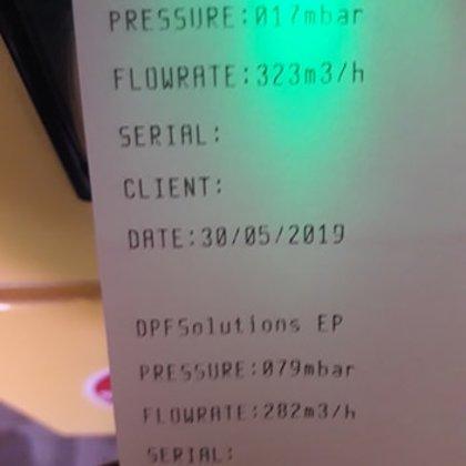 BMW X5 kvēpu filtra tīrīšana