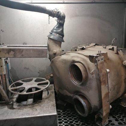 DAF 106 euro 6 DPF filtra un katalizatora tīrīšana, EGR dzesētāja tīrīšana